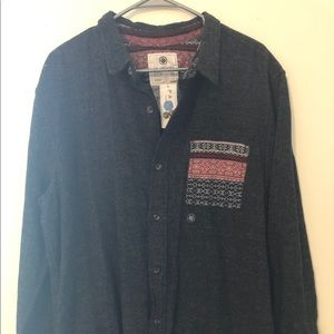 On the byas button down